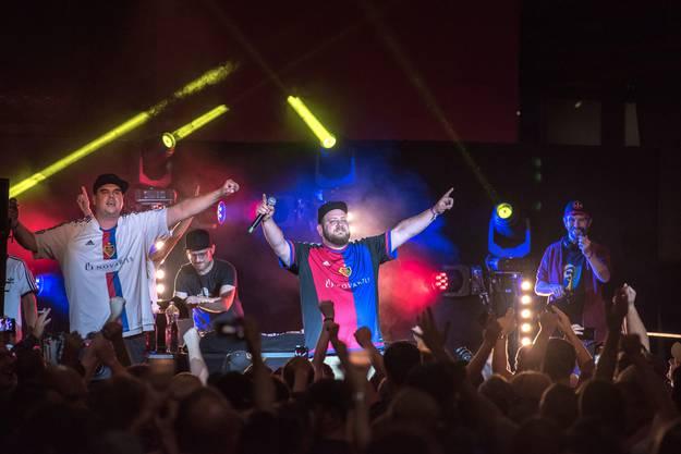DJ Pyro kriegte an seinem Konzert Gänsehaut.