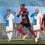Geoffroy Serey Die schoss gegen die Grasshoppers seinen ersten Treffer für Neuchâtel Xamax