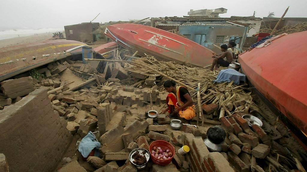 Der Zyklon «Fani» machte im Mai 2019 in Bangladesch und Indien 3,5 Millionen Menschen zu Binnenflüchtlingen. (Archivbild)