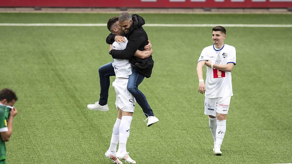 FC Luzern wurde dafür belohnt, dass er die ganze Saison lang die Ruhe bewahrte