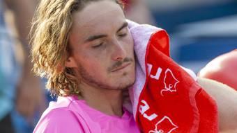 Trotz verlorenem Final in Toronto auf dem Vormarsch: der 20-jährige Grieche Stefanos Tsitsipas