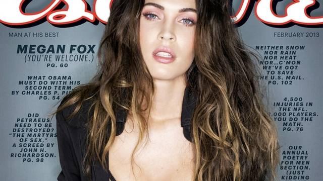 """Will angeblich keine Sexbombe mehr sein: Megan Fox auf dem Cover der neuesten Ausgabe von """"Esquire"""" (Archiv)"""