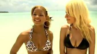 Im sexy Bikini: DSDS-Kandidatinnen posieren auf den Malediven