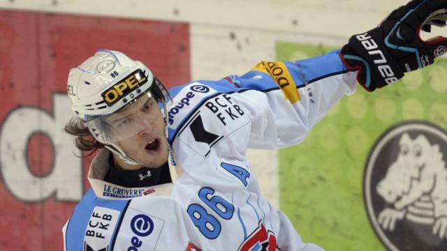Julien Sprunger traf für Fribourg zum 2:0-Schlussresultat