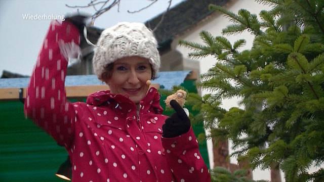 Weihnachtsmarkt Laufenburg.Am Weihnachtsmarkt Laufenburg Quizzenswert Telezüri