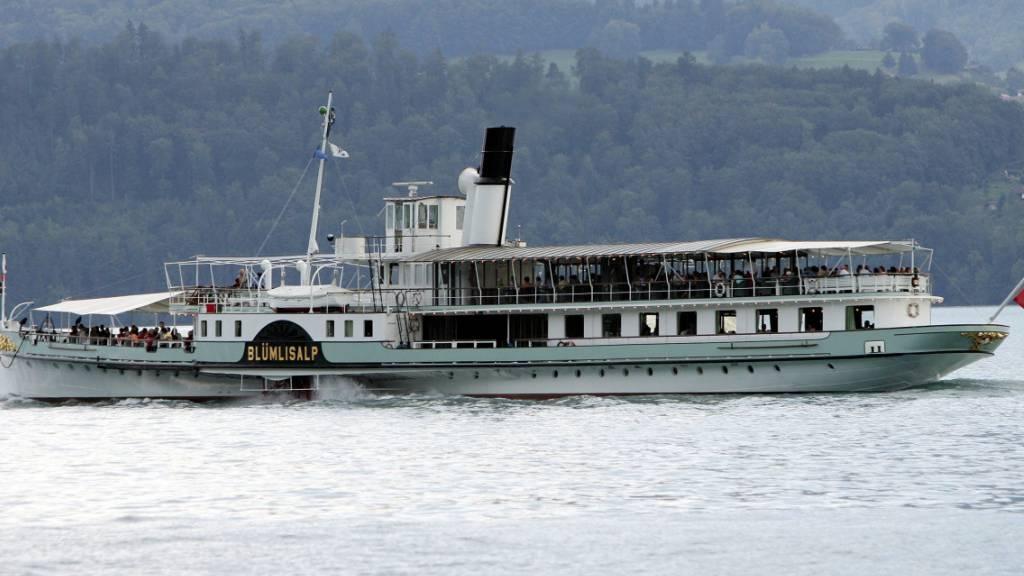 Schifffahrt auf dem Thunersee eingestellt - Wasserstand zu tief