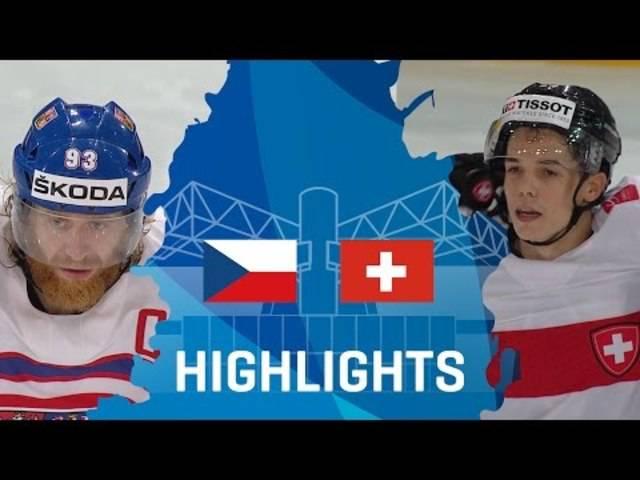 Highlights Eishockey-WM 2017 Tschechien-Schweiz