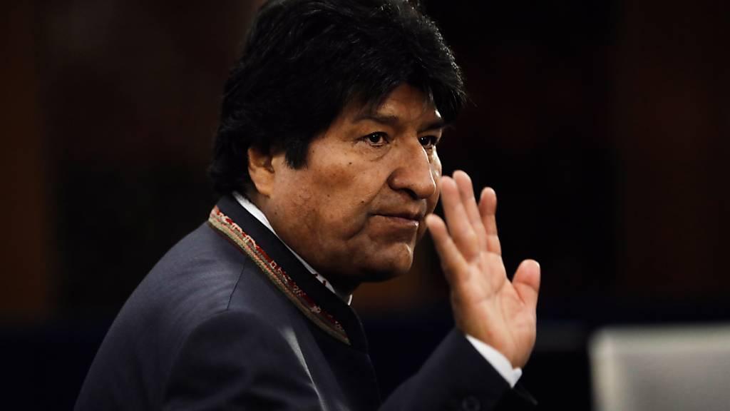 Angebot für Asyl in Mexiko: Boliviens Präsident Evo Morales gab nach Protesten am Sonntag seinen Rücktritt bekannt. (Archivbild)