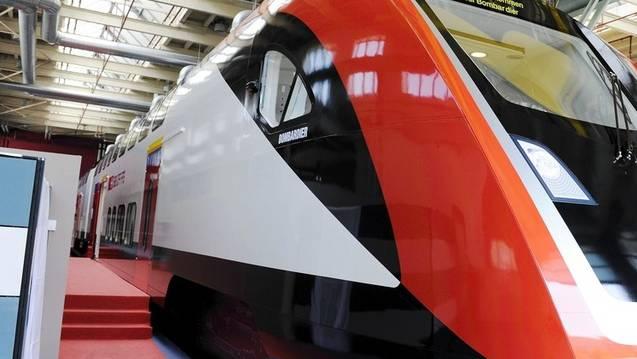 Ein Zug von Bombardier - hier für die SBB (Archiv)