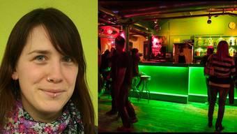 Kulturleiterin Patricia Itel ist wehmütig, weil das «Merkker» nach der Silvesterparty zugeht.
