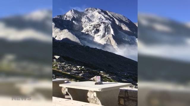 Hoffnung auf Bergsturz-Überlebende schwindet