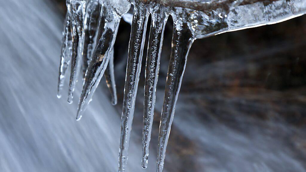 An manchen Orten war es die kälteste Nacht des Winters