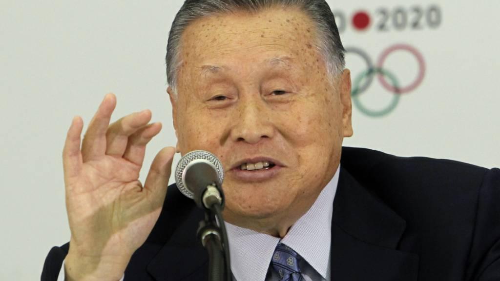 Der öffentliche Druck wurde zu gross: Yoshiro Mori musste seinen Posten als OK-Präsident der Olympischen Spiele in Tokio abgeben