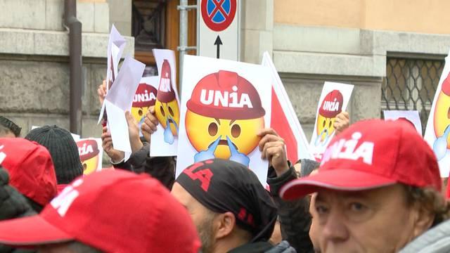 4'000 Bauarbeiter protestieren für bessere Arbeitsbedingungen