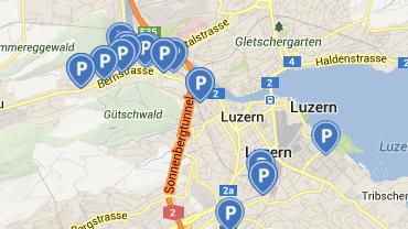 Vernetzt: Mit «park it» und «parku» einen Parkplatz finden