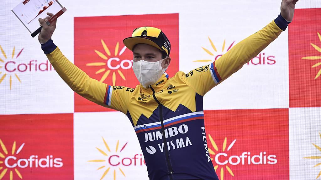 Der Vorjahressieger jubelt zum Auftakt: Primoz Roglic gewinnt die 1. Etappe der diesjährigen Vuelta