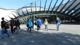 Die Kantonsschule Wohlen - auch diese Schule hat mit Schwänzern zu tun.