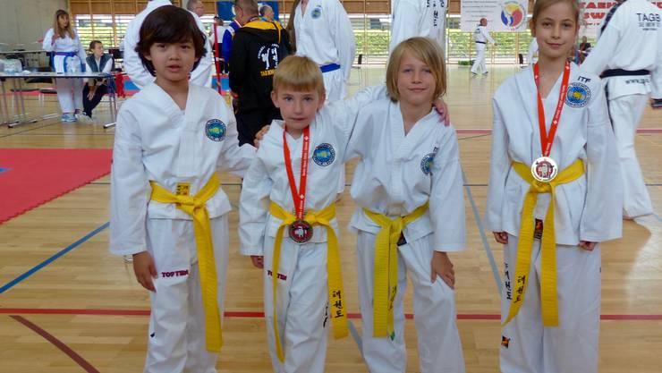 Bei Taekwon-Do Schweiz trainieren auch viele Kinder!