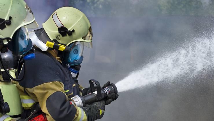 Die Feuerwehrleute brachten den Brand unter Kontrolle. (Symbolbild)