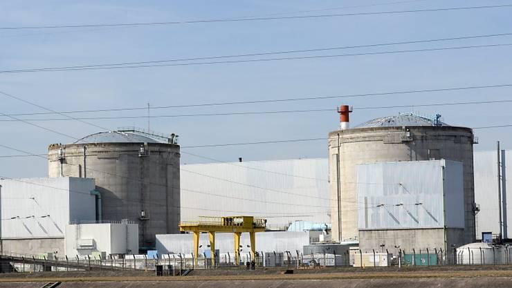 Blick auf das Gelände des Atomkraftwerks in Fessenheim (Archiv)