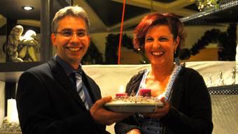 Freuen sich auf viel Besucher: Markus Arnold und Claudia Bieri.  fup