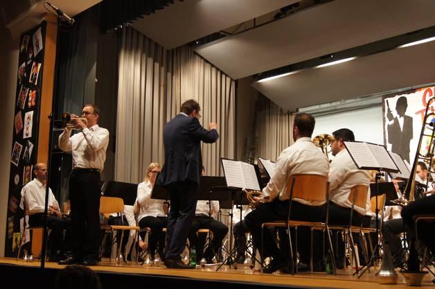 Jahreskonzert der Brass Band Auw