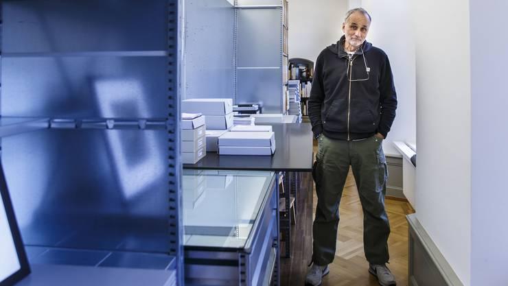 Das Atelier von Daniel Schwartz: Hier wohnt und arbeitet der 63-Jährige.