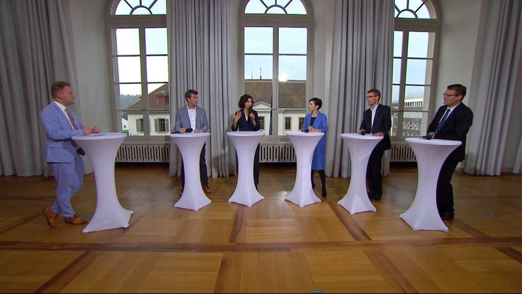 Wahl-Talk mit den Aargauer Parteipräsidenten
