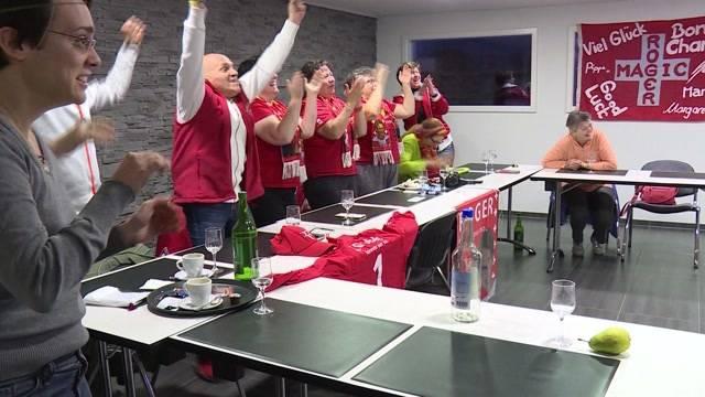 Schweiz aus dem Häuschen nach Tennis-Kampf der Titanen
