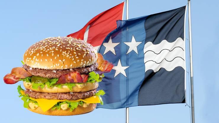 Mit den Werbesprüchen soll für den neuen Big Mac mit Bacon geworben werden – frei nach dem Motto: Ist ein Big Mac mit Bacon immer noch ein Big Mac?