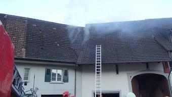 Brand in Zeiningen am Ostermontag