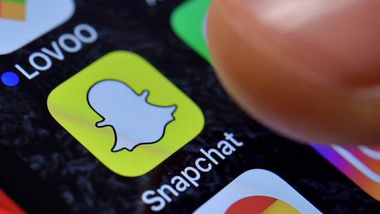 Phase der Stagnation ist vorbei: die Foto-App Snapchat konnte im letzten Quartal wieder deutlich Nutzer hinzugewinnen. (Symbolbild)