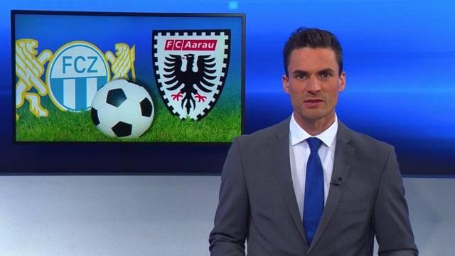 Resultate FC Aarau - FC Zürich / FC Wohlen - FC Schaffhausen