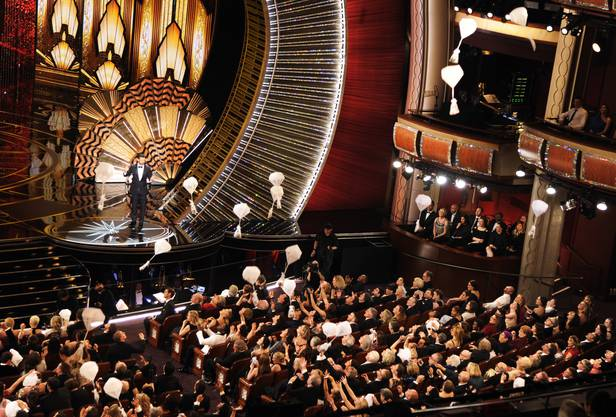 Blick ins Dolby Theatre in Los Angeles zur 89. Oscar-Verleihung.