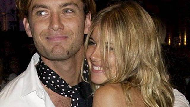 Jude Law und Siena Miller 2005 (Archiv)