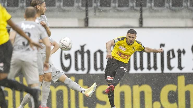 Die defensive Anfälligkeit machte sich gegen Schaffhausen erneut bemerkbar.
