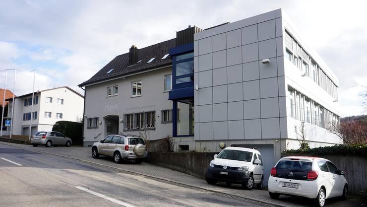 Der Hauptsitz der Spar- und Leihkasse Bucheggberg in Lüterswil.