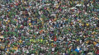 Noch nie so viele junge Menschen: Weltjugendtag in Rio (Symbolbild)