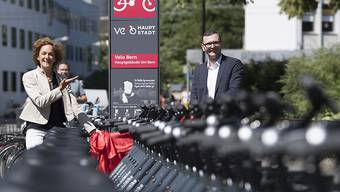 Ab kommender Woche werden in Bern die ersten nachgerüsteten PubliBike-Leihvelos wieder in Betrieb genommen.