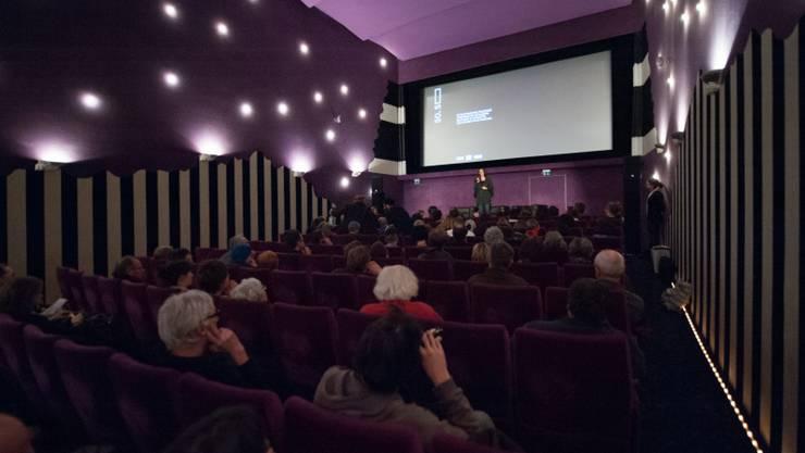 Besucher der Filmtage im Kino Palace