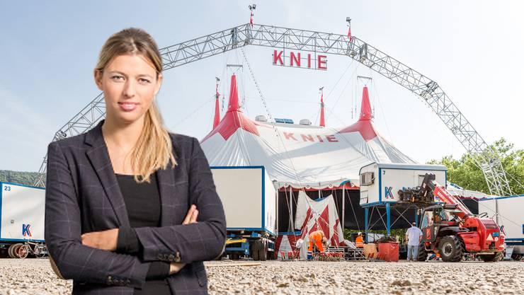 Karin Bertschi fordert ein Verbot von Tiernummern im Zirkus.