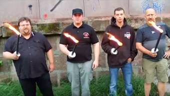 Blamabel: Das Video der Nationaldemokraten aus Trier.