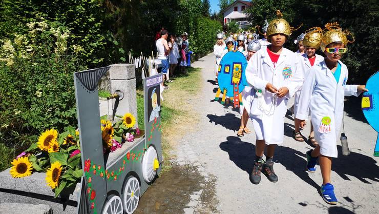 Jugendfest Boniswil Umzug am 29. Juni 2019 Die 3. und 4. Klasse