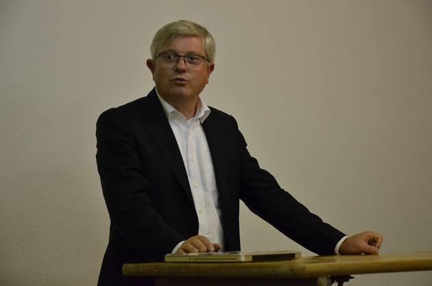 Andreas Glaser, Direktor des Zentrums für Demokratie Aarau (ZDA)