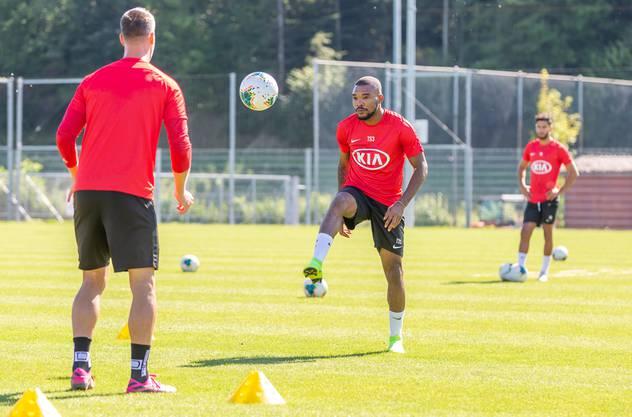 Serey Dies erster Tag beim FC Aarau