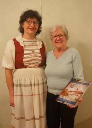 Claudia Küpfert 25 Jahre Mitgliedschaft und Walburga Vitelli 40 Jahre Vorstandsarbeit