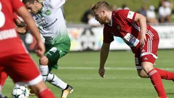 Im Cup gegen St. Gallen haben die Badener verloren - gegen Sursee soll ein Sieg her.