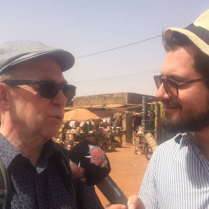 Viktor Giacobbo besucht Burkina Faso