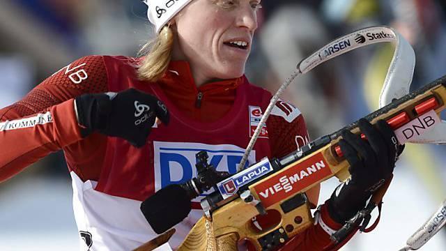 Tora Berger wurde am Holmenkollen Zweite