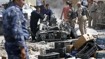 Das Blutvergiessen im Irak nimmt kein Ende